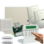¿De qué se compone un sistema de alarma domiciliaria?
