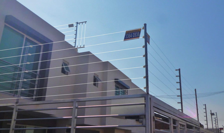 seguridad perimetral para casas
