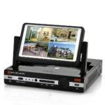 ¿Cuál es la diferencia entre DVR, NVR y HVR en los sistemas de videovigilancia?